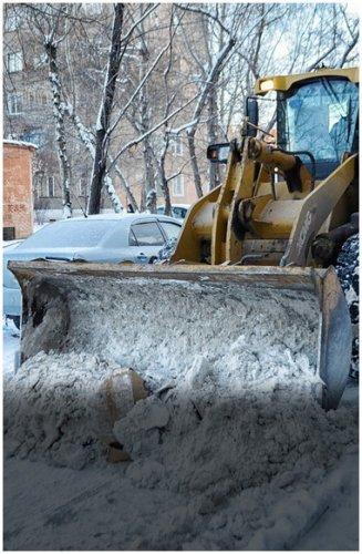 В полиции штрафами напоминают КСК, что они обязаны убирать снег