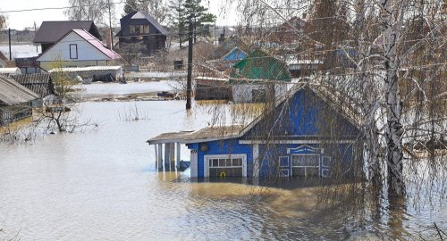 Угроза подъема воды остается в регионах Казахстана