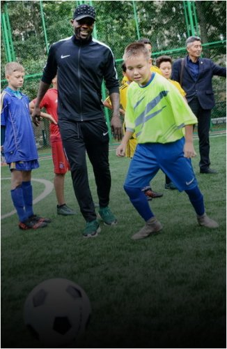 Спортивную площадку презентовали в Павлодаре