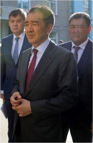 Бакытжан Сагинтаев обсудил с врачами качество медуслуг