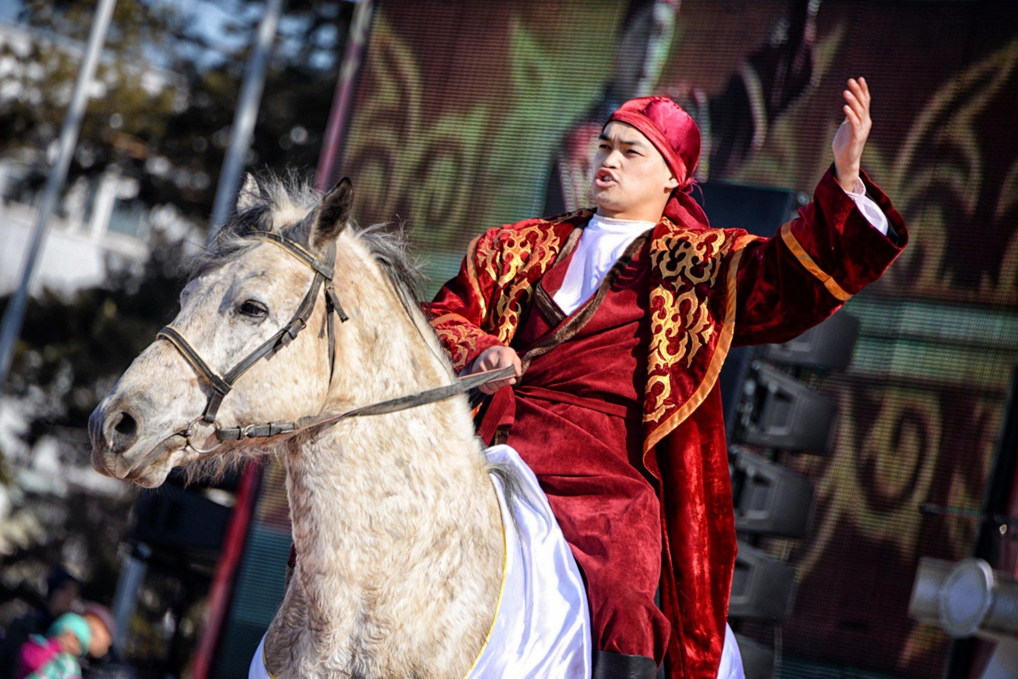 120 юрт установили по Павлодару в честь праздника Наурыз