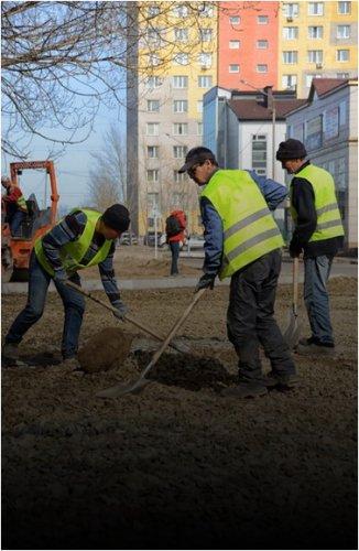 В Павлодаре начали ремонт внутриквартальных территорий