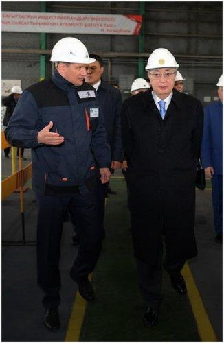 Устранить бесконтрольные выбросы в атмосферу поручил Президент Казахстана
