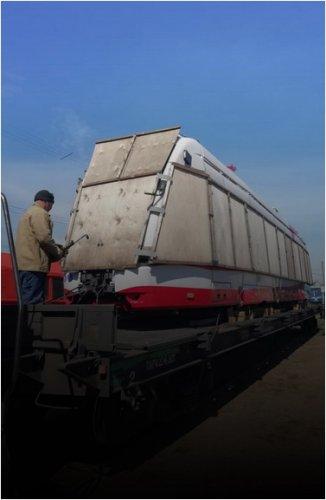 Новые трамваи из Беларуси прибыли в Павлодар