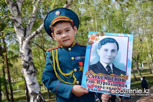 74-ю годовщину Победы отпраздновали павлодарцы