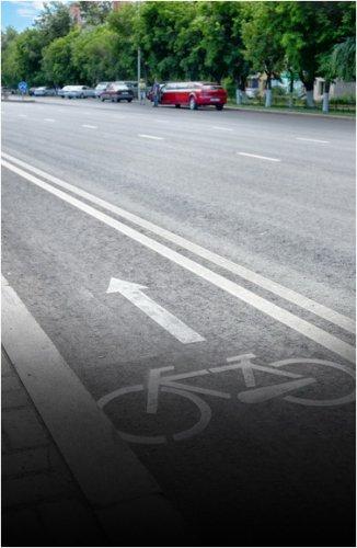 Правильно ли расположена велодорожка, выясняли полицейские