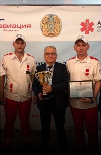 Павлодарские медработники заняли третье место в республиканских соревнованиях бригад скорой медицинской помощи