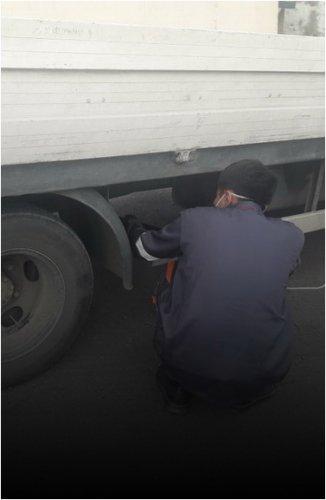 В Павлодарской области проверяют автомобили на превышение выбросов