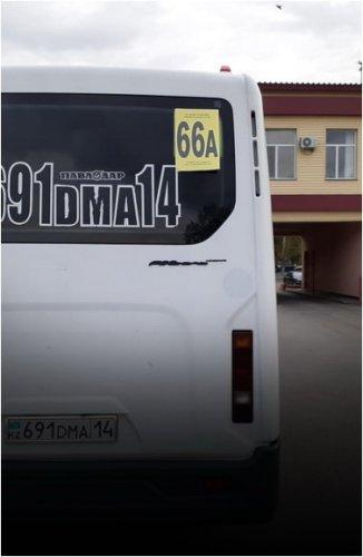 Новый маршрут 66А появится в Павлодаре
