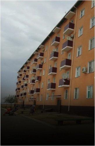 Жители восстановленной почти с нуля Арыси благодарят строителей Прииртышья
