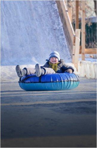 Сезон зимних развлечений открыли в Павлодаре