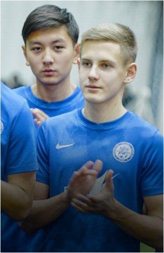 Крытый футбольный манеж презентовали в Павлодаре