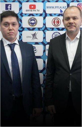 Сменилось руководство федерации футбола Павлодарской области и ФК «Ertis»