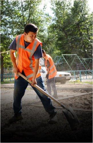187 дворов благоустроят в Павлодарской области в этом году