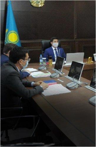 Состоялось заседание комиссии по недопущению возникновения и распространения КВИ в Павлодарской области