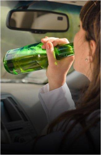 Жительница Экибастуза, лишенная прав пожизненно, снова села пьяной за руль