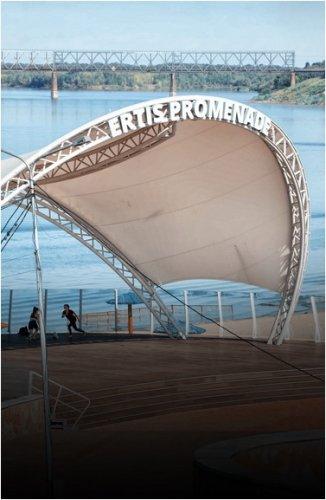 """Ремонт сцены """"Ertis Promenade"""" на 23,5 миллиона тенге поручено отменить"""
