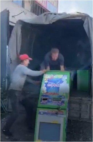 Игровые терминалы уничтожили в Павлодаре
