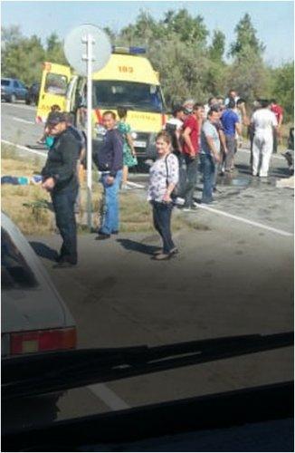 Два крупных ДТП в Павлодарской области унесли жизни пяти человек