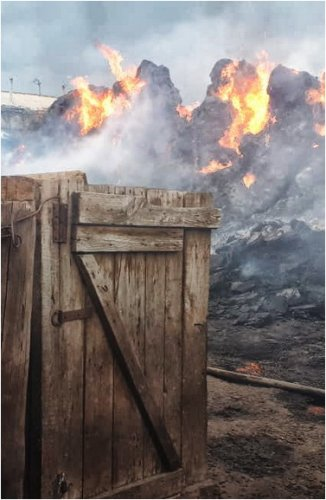 Два крупных пожара произошли в селах Павлодарской области