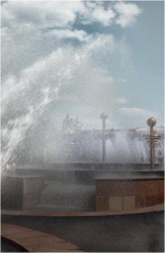Сезон фонтанов в Павлодаре подошел к концу