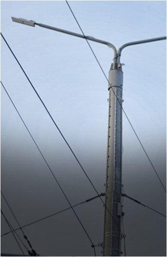 На нескольких участках в Павлодаре установили фонари