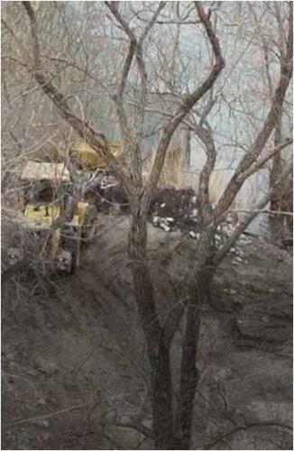 За сброс строительного мусора в реку предпринимателя привлекли к ответственности