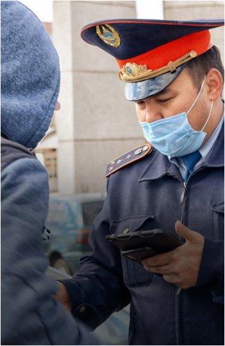 За ложный вызов полиции мужчину оштрафовали почти на 90 тысяч тенге