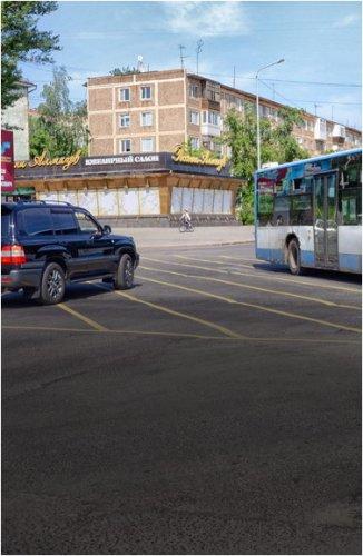 Желтая разметка и «вафельные» линии появятся на дорогах Павлодара