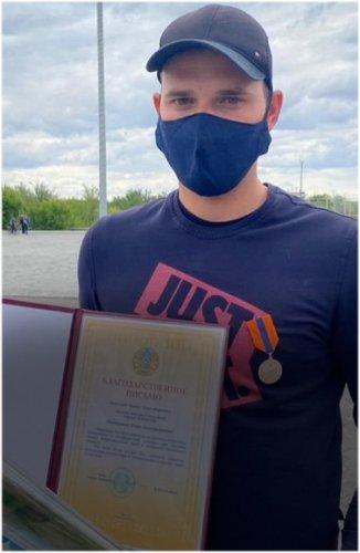 Мужчину, спасшего тонущих детей, наградили медалью