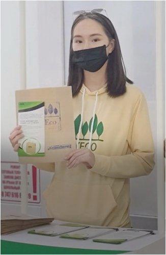 Заменить полиэтиленовые пакеты на крафтовые предлагают волонтеры Павлодара