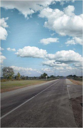 Завершился ремонт дороги до Шалдайского соснового бора в Павлодарской области
