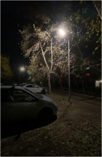 Подключать освещение дворов спустя годы начали в Павлодаре